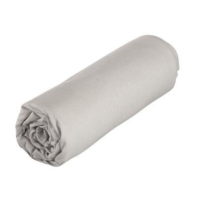 Drap gris perle 118x180 cm coton bio P'tit Basile HACOT ET COLOMBIER