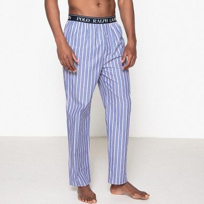 Calças de pijama em popelina, aos quadrados Calças de pijama em popelina, aos quadrados POLO RALPH LAUREN