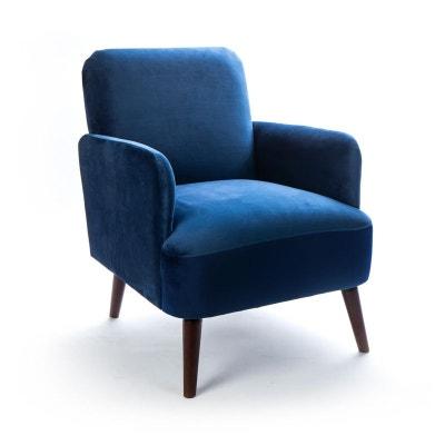 Fauteuil Design Bleu En Solde La Redoute