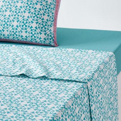 Yucatan Printed Cotton Sheet La Redoute Interieurs