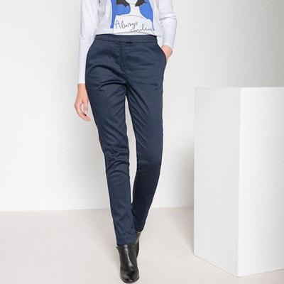 Pantalon slim imprimé Pantalon slim imprimé ANNE WEYBURN. Soldes 31edb315b212