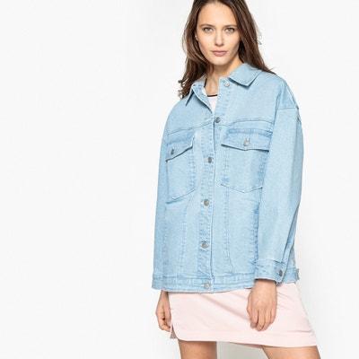 Kurtka jeansowa oversize La Redoute Collections