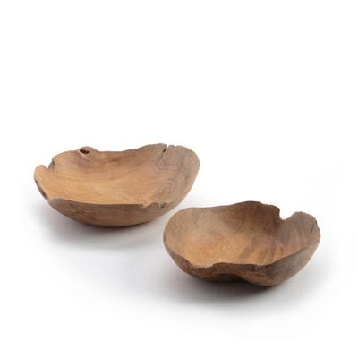 Set of 2 Simonie Teak Root Bowls Set of 2 Simonie Teak Root Bowls AM.PM.