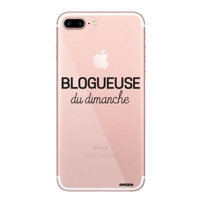 coque rose fluo iphone 7 plus
