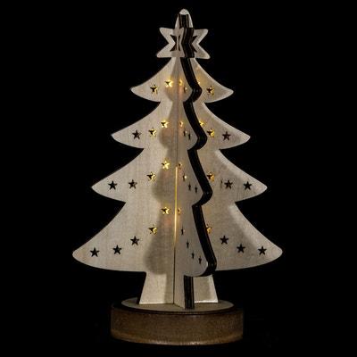 Sapin lumineux décoratif Noël - 21 x 28 cm Sapin lumineux décoratif Noël - 21 x 28 cm ATMOSPHERA