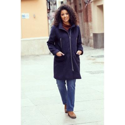 Hooded Zip-Up Mid-Length Coat Hooded Zip-Up Mid-Length Coat ULLA POPKEN