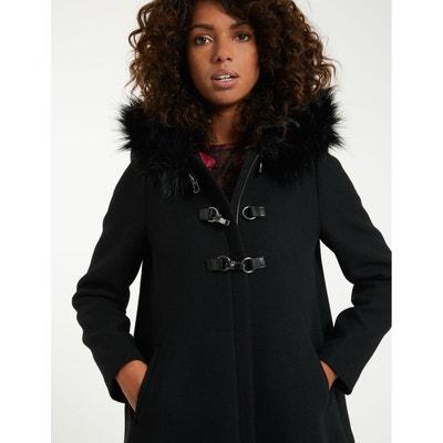 Manteau à capuche en laine mélangée Manteau à capuche en laine mélangée  MORGAN d651b1cb26fd
