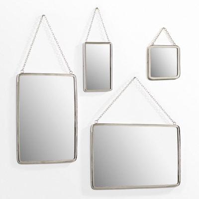 Miroir rect. petite taille L17,5 cm, Barbier Miroir rect. petite taille L17,5 cm, Barbier AM.PM.