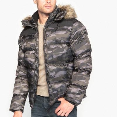 Camoflauge Padded Coat SCHOTT