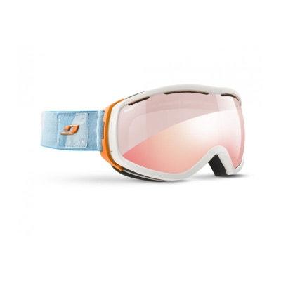 efd230547fd48f Masque de ski pour femme JULBO Blanc ELARA Blanc   Orange   Turquoise -  Zebra Light