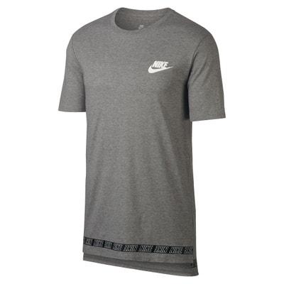 T-Shirt mit Rundhalsausschnitt, unifarben T-Shirt mit Rundhalsausschnitt, unifarben NIKE