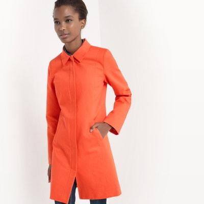 Пальто средней длины, хлопковое La Redoute Collections
