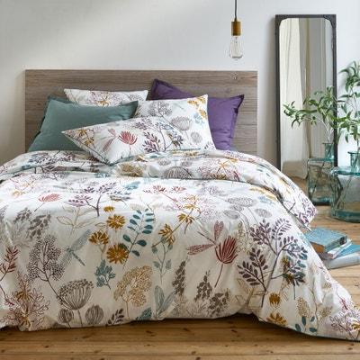 BOTANIQUE Cotton Percale Duvet Cover BOTANIQUE Cotton Percale Duvet Cover La Redoute Interieurs