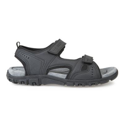 S Strada A Flat Sandals. GEOX