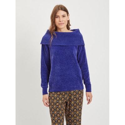Chenille Bardot Jumper/Sweater Chenille Bardot Jumper/Sweater VILA
