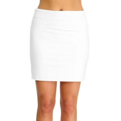 Jupe blanche femme en solde   La Redoute 0739cc5c8c0e