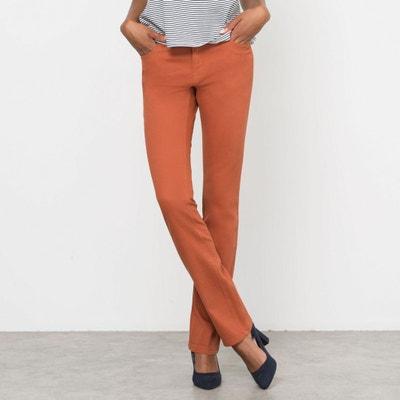 Pantaloni dritti, 5 tasche, cotone stretch Pantaloni dritti, 5 tasche, cotone stretch La Redoute Collections