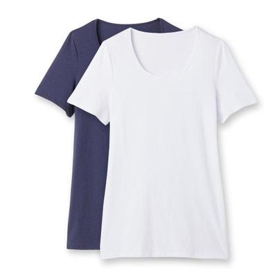 Confezione da 2 T-shirt a maniche corte Confezione da 2 T-shirt a maniche corte CASTALUNA