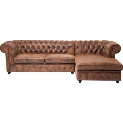 Canapé d'angle Oxford Vintage Droit Kare Design KARE DESIGN