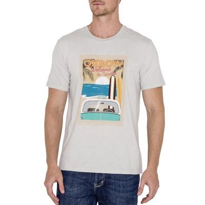 T-shirt con scollo rotondo e maniche corte OXBOW