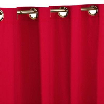 Tenda tinta unita con occhielli in metallo Tenda tinta unita con occhielli in metallo La Redoute Interieurs