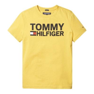 T-shirt em algodão bio 12 - 16 anos T-shirt em algodão bio 12 - 16 anos TOMMY HILFIGER