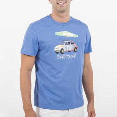T-shirt met ronde hals en korte mouwen T-shirt met ronde hals en korte mouwen OXBOW