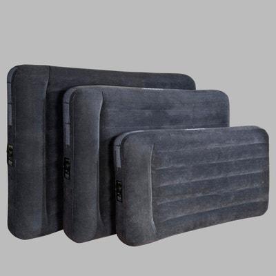 Lit gonflable, oreiller et gonfleur intégrés Lit gonflable, oreiller et gonfleur intégrés INTEX