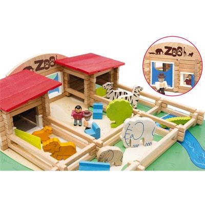 Le zoo en bois : 160 pièces Le zoo en bois : 160 pièces JEUJURA