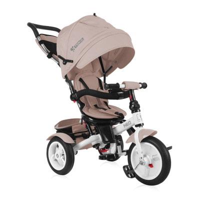 Tricycle évolutif Bébé / Enfant Neo  Roues Gonflables Beige LORELLI