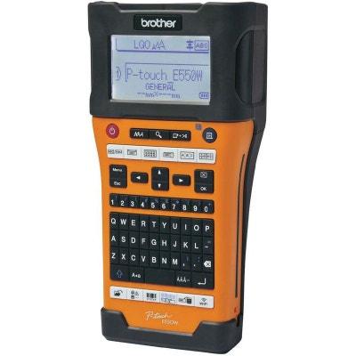 Imprimante à étiquettes industrielle monochrome Brother P-Touch E550WVP Imprimante à étiquettes industrielle monochrome Brother P-Touch E550WVP DEVOLO