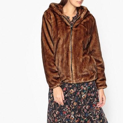 Manteau à capuche imitation fourrure CONNECTING Manteau à capuche imitation fourrure CONNECTING OAKWOOD