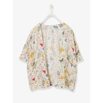 Kimono fille en viscose Kimono fille en viscose VERTBAUDET