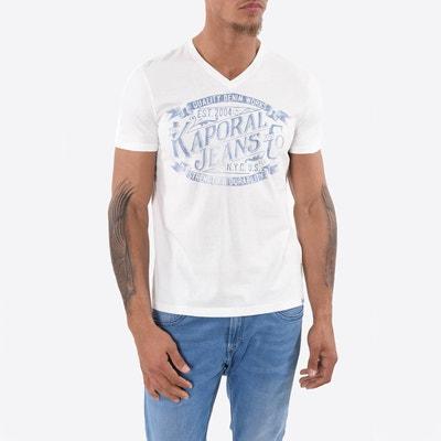 T-Shirt mit V-Ausschnitt KAPORAL 5