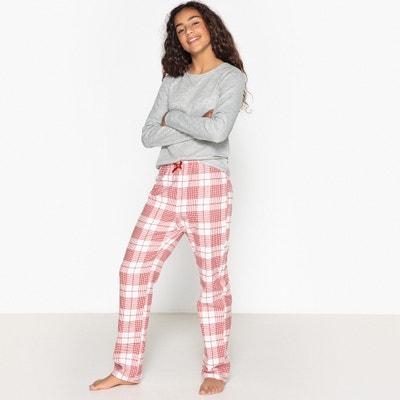 Pijama de 2 peças, aos quadrados, 10-16 anos Pijama de 2 peças, aos quadrados, 10-16 anos La Redoute Collections