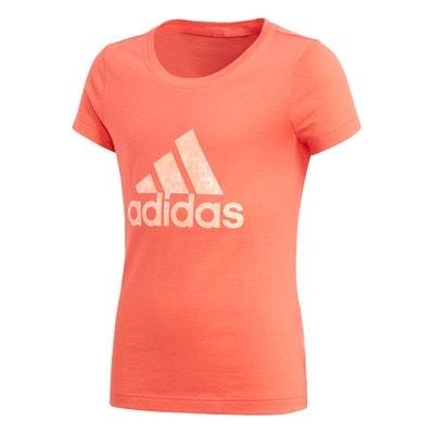Plain Short-Sleeved Crew Neck T-Shirt Adidas originals