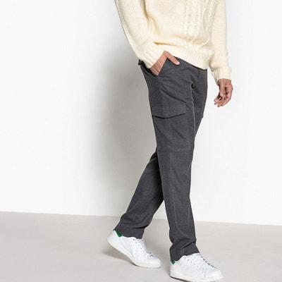 8d9609743715d Pantalon cargo homme La redoute collections en solde   La Redoute