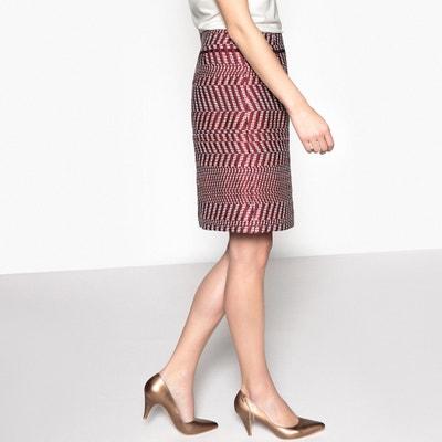 Jacquard A-Line Skirt ANNE WEYBURN