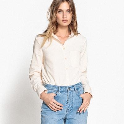 Camicia in velluto, maniche lunghe Camicia in velluto, maniche lunghe La Redoute Collections