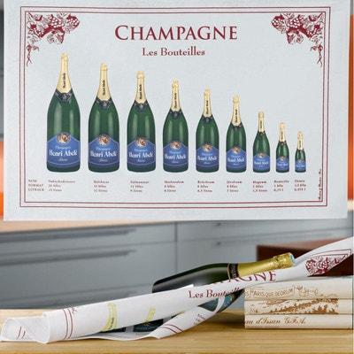 Torchon Bouteille Champagne TORCHONS ET BOUCHONS