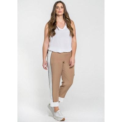 Pantalon large, avec bandes sur les côtés MAT FASHION