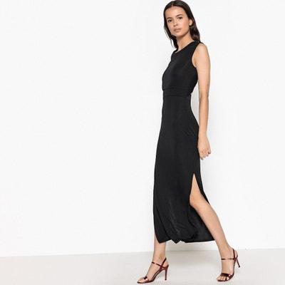 Prosta, gładka sukienka bez rękawów La Redoute Collections