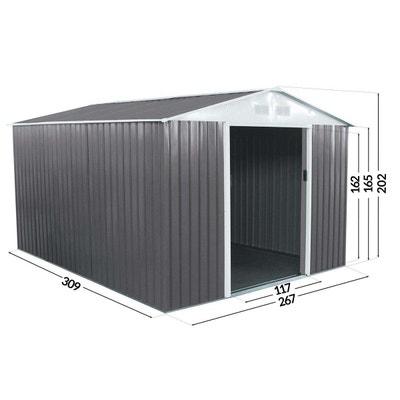 """Abri jardin métal """"Dallas"""" - 8,84  m² Abri jardin métal """"Dallas"""" - 8,84  m² HABITAT ET JARDIN"""