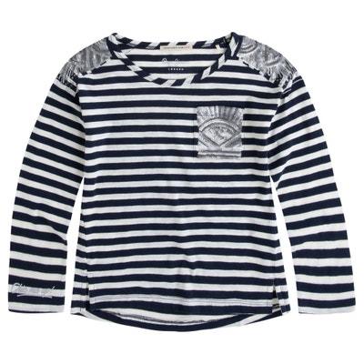 Gestreept T-shirt 8-16 jr Gestreept T-shirt 8-16 jr PEPE JEANS