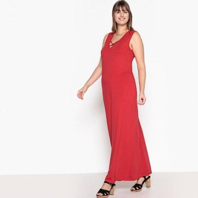 Lange jurk in tricot CASTALUNA