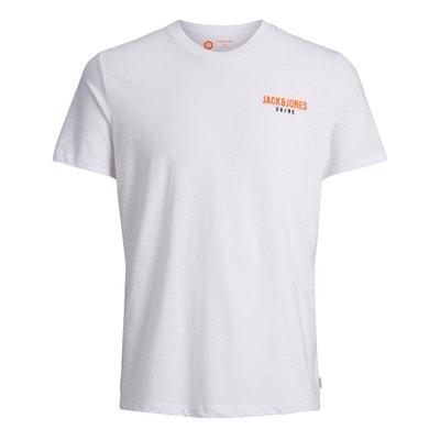 T-shirt z okrągłym dekoltem i krótkim rękawem T-shirt z okrągłym dekoltem i krótkim rękawem JACK & JONES