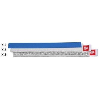 Pack de 8 accessoires 28 cm pour nettoyeur à vitre Pack de 8 accessoires 28 cm pour nettoyeur à vitre DIRT DEVIL