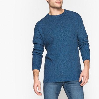 Pull con scollo rotondo in maglia grossa Pull con scollo rotondo in maglia grossa La Redoute Collections