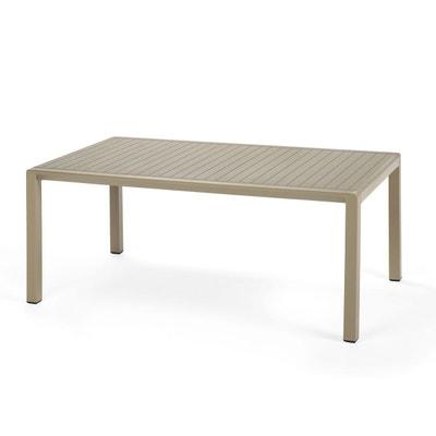 table basse salon de jardin terrasse aria 100 cm table basse salon de jardin - Salon De Jardin En Plastique