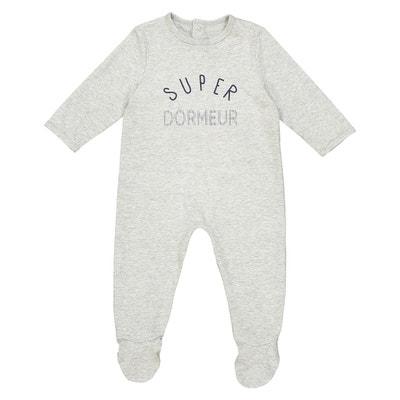 Pyjama mit Aufdruck vorne 0 Monate - 3 Jahre, Oeko Tex Pyjama mit Aufdruck vorne 0 Monate - 3 Jahre, Oeko Tex La Redoute Collections